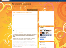 1christians.blogspot.com