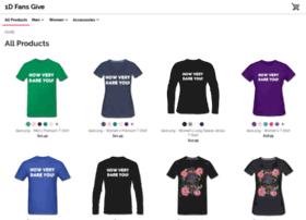 1dfansgive.spreadshirt.com