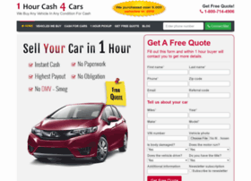 1hourcash4cars.com