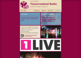 1live.tomorrowlandradio.com