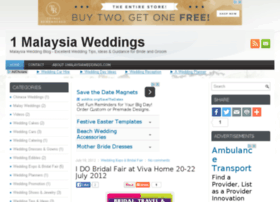 1malaysiaweddings.com