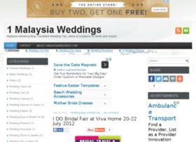 1malaysiaweddings.com