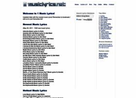 1musiclyrics.net