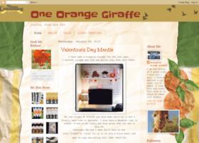 1orangegiraffe.blogspot.com