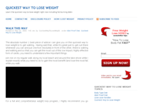 1quickestwaytoloseweight.com