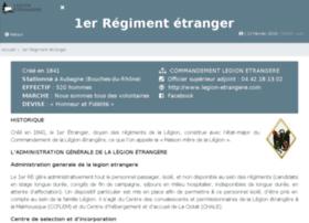 1re.legion-etrangere.com