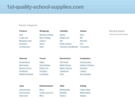 1st-quality-school-supplies.com