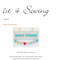 1st4sewing.com