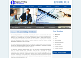1staccountingsolutions.com
