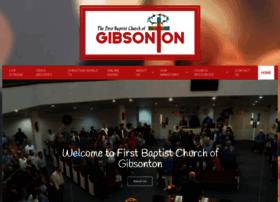 1stbaptistgibsonton.com
