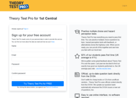 1stcentral.theorytestpro.co.uk