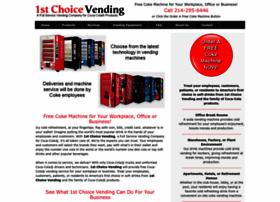 1stchoicevending.com