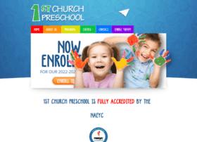 1stchurchpreschool.org