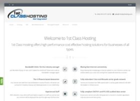 1stclasshosting.com