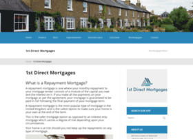 1stdirectmortgages.co.uk