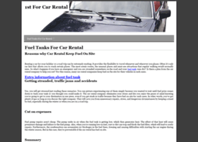 1stforcarrental.com