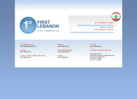 1stlebanon.net
