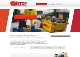 1stopdumpsterrentals.com