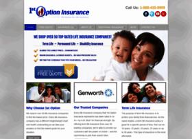 1stoptioninsurance.com