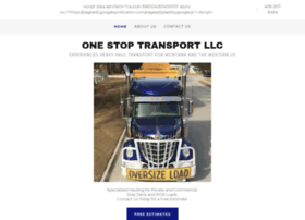 1stoptransport.com