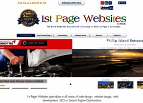 1stpagewebsites.com.au