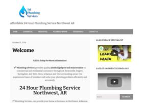 1stplumbingbentonville.com