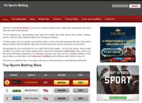 1stsportsbetting.com