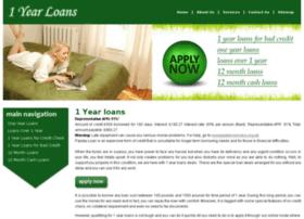 1yearloans.co.uk