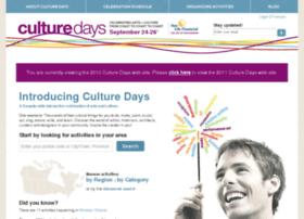 2010.culturedays.ca