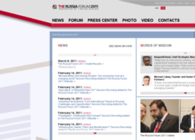 2011.therussiaforum.com