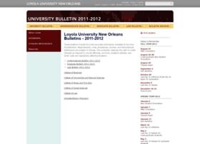 2011bulletin.loyno.edu