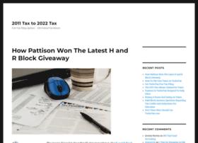 2011tax.org