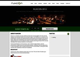 2012.ruxcon.org.au