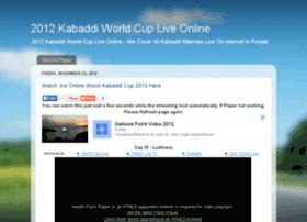 2012kabaddiworldcup.blogspot.in
