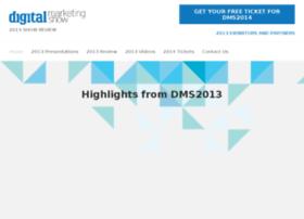 2013.digitalmarketingshow.co.uk