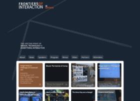 2013.frontiersofinteraction.com