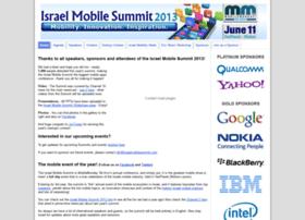 2013.israelmobilesummit.com