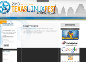 2013.texaslinuxfest.org