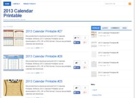 2013calendarprintable.net