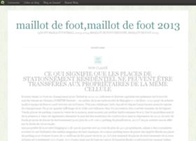 2013maillotdefoot.blog.com