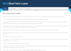2013shorttermloans.co.uk