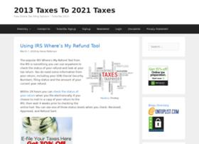2013taxes.org
