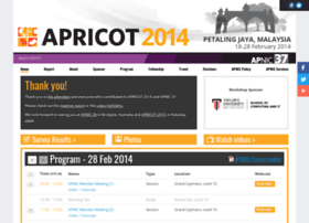 2014.apricot.net
