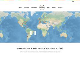2014.spaceappschallenge.org
