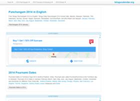 2014.telugucalendar.org