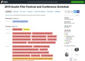 2015austinfilmfestivalandconfere.sched.org