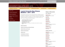 2015bulletin.loyno.edu