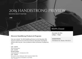 2015handistrongpreview.splashthat.com