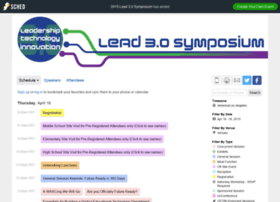 2015lead30symposium.sched.org