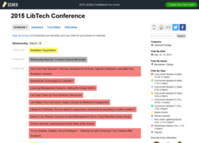 2015libtechconference.sched.org